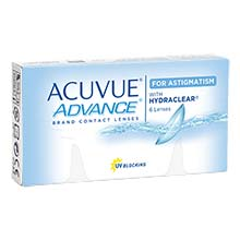 ACUVUE ADVANCE for Astigmatism (6 lenses)
