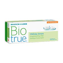 Biotrue ONEday for Astigmatism (30 lenses)